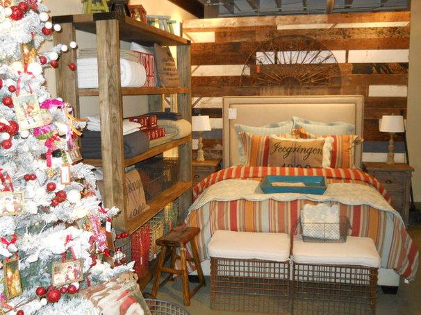 Eclectic Bedroom by Jaye Lee Interiors