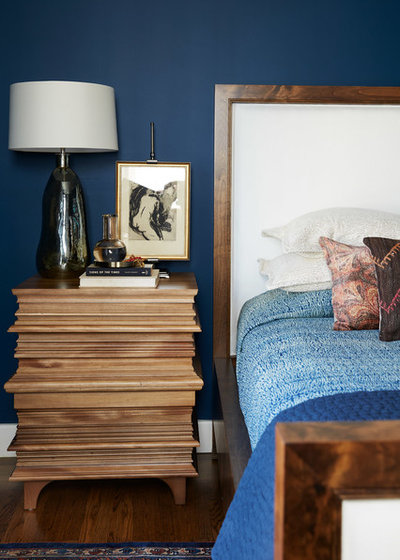 Eclectic Bedroom by North Bay Construction