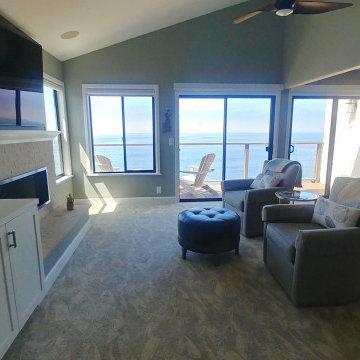 San Clemente beach condo remodel