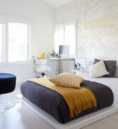 コンテンポラリー 寝室 by Dupuis-Design