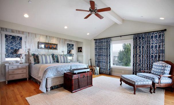 Beach Style Bedroom by Darci Goodman Design