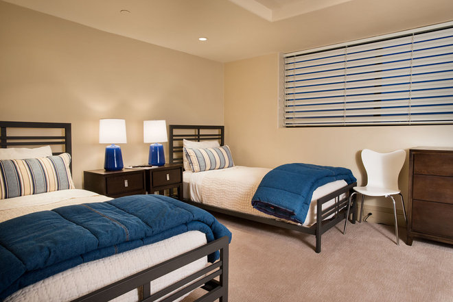 Contemporary Bedroom by Design InSite