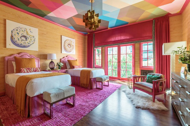 Eclectic Bedroom San Francisco Decorator Showcase