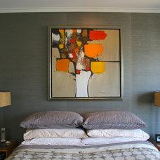 Midcentury Bedroom by Fiorella Design
