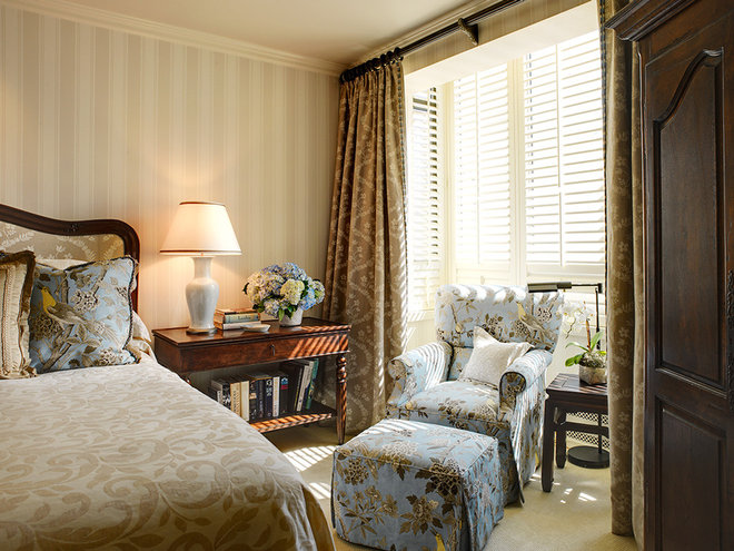 Traditional Bedroom by Tres McKinney Design