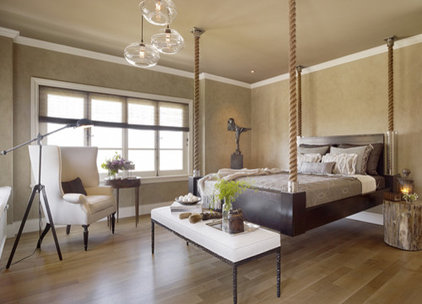 Eclectic Bedroom by Cathleen Gouveia Design