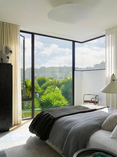 Contemporary Bedroom by Jamie Bush & Co.