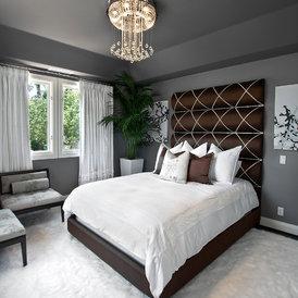 contemporary bedroom by Orange Coast Interior Design