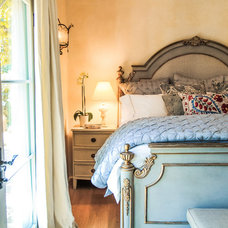 Traditional Bedroom by Elizabeth Vallino Interiors