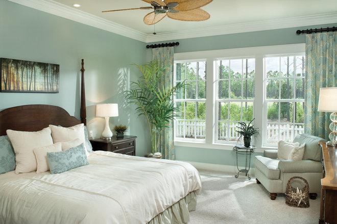 Tropical Bedroom by Arthur Rutenberg Homes