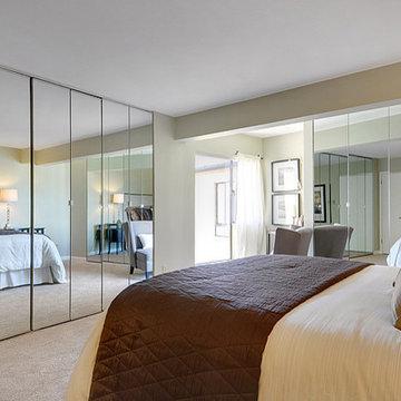 Sandpoint View Condo Master Bedroom