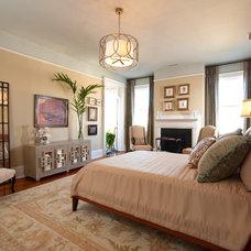 Eclectic Bedroom by Sandra Ericksen Design