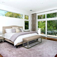 Contemporary Bedroom by Joseph Scarpulla - Architect