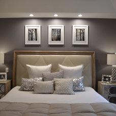 Modern Bedroom by APK Designs LLC
