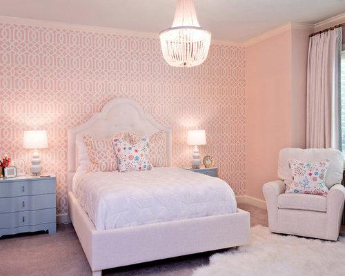 Pareti Rosa Camera Da Letto : Camera da letto con pareti rosa charlotte foto e idee per arredare