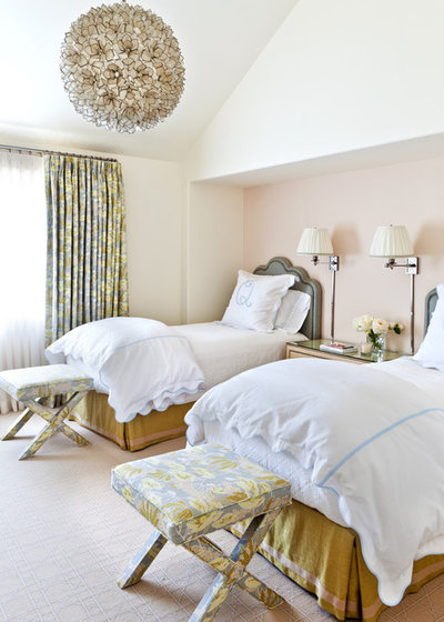 Contemporary Bedroom by Caitlin Moran Interiors