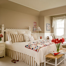 Beach Style Bedroom by Kathryne Designs, Inc