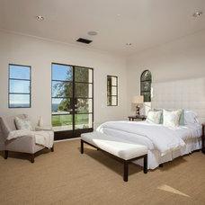 Mediterranean Bedroom by Euroline Steel Windows