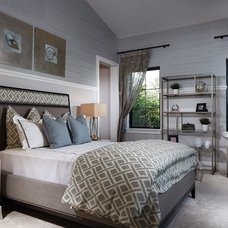 Transitional Bedroom by Design West