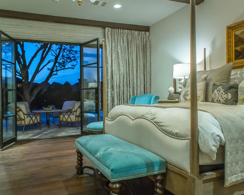 southwestern green bedroom design ideas remodels photos houzz