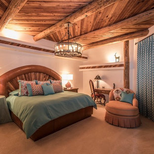 Bild på ett amerikanskt sovrum