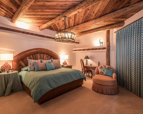 25 southwestern orange bedroom design ideas remodel pictures houzz