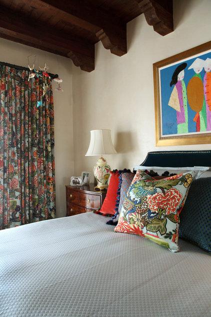 Mediterranean Bedroom by Tewes Design