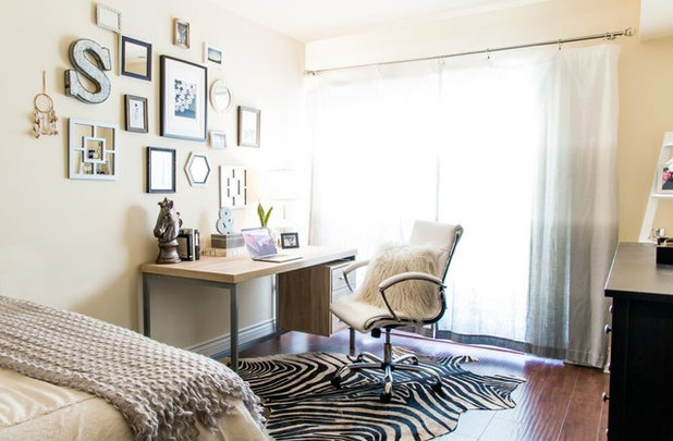 Eclectic Bedroom by Michelle Gage | Interior Designer