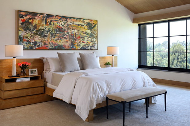 Contemporary Bedroom by Lori Backen Interiors