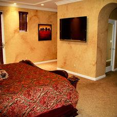 Mediterranean Bedroom by Interior Designs San Diego