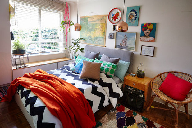 Eclectic Bedroom by Michelle Jarni