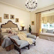 Traditional Bedroom by Culbertson Durst Interiors