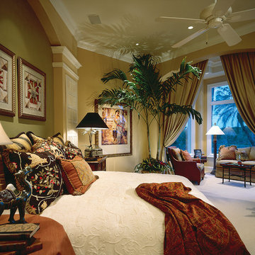 """Sater Design Collection's 6928 """"Colony Bay"""" Home Plan"""