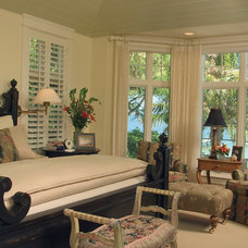 Eclectic Bedroom by Sater Design Collection, Inc.
