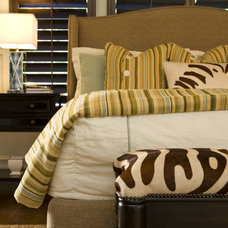 Transitional Bedroom by Savvy Interiors