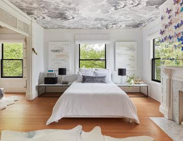 Scandinavian inspired Master Bedroom