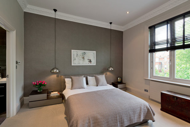 Contemporary Bedroom by DCL Interior Design LLP