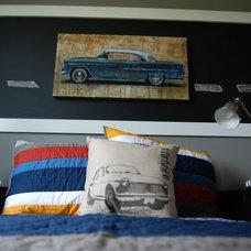 Transitional Bedroom by Brynn Charles Designs, LLC