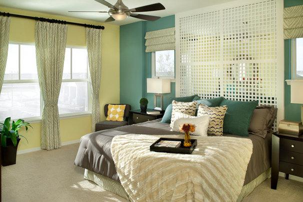 Eclectic Bedroom by David Weekley Homes