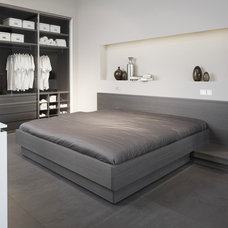 Contemporary Bedroom by Eggersmann Kitchens | Home Living