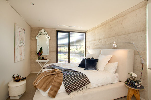 Contemporary Bedroom by Red Images Fine Photography