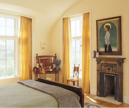 traditional bedroom by Scott Cornelius Architect