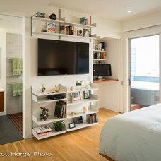 Modern Bedroom by Scott Hargis Photo