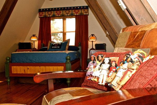 Eclectic Bedroom by Scott's Creative Home