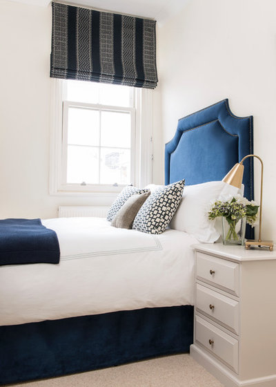 Transitional Bedroom by Nick George  |   Photographer