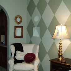 Eclectic Bedroom by S Interior Design