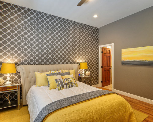 Best Gray And Yellow Bedroom Design Ideas Amp Remodel