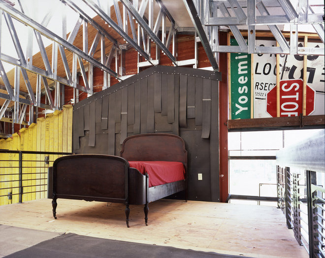 Industrial Bedroom by Jensen Architects