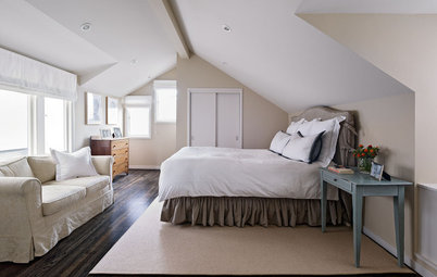 7 Decorating Tips for an Attic Bedroom Sanctuary
