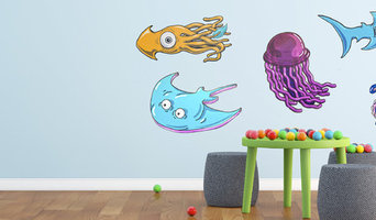 Sea Creature Animal Wall Design